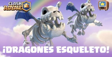 Dragones esqueletos Clash Royale