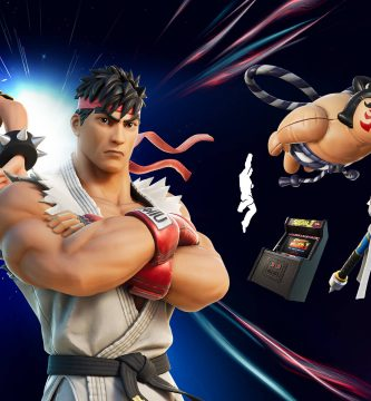 Fornite sumó personajes de Street Fighter